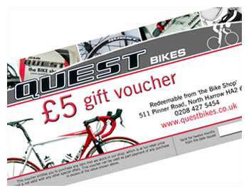 Questbikes £5 Gift Voucher